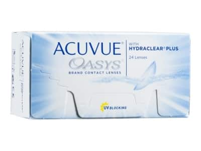 Acuvue Oasys with Hydraclear Plus 24 pack Contact Lenses for $57.55 or Acuvue Oasys 1 Day 90 Pack Contact Lenses for $57.91 + Free Shipping