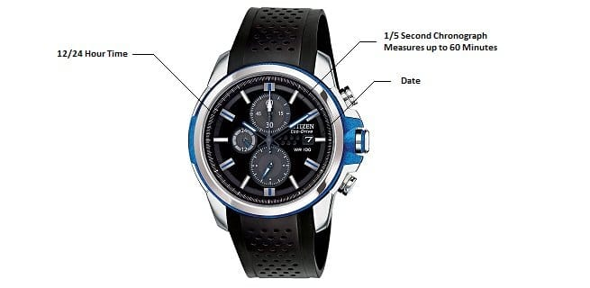 Citizen Drive AW1150-07E from Citizen Eco-Drive Men's Watch with Date  $75 with prime $74.99