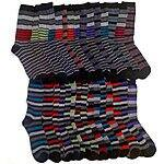 30 Pair John Weitz Men's Fashion Designer Casual Socks - $37.99 and FREE Shipping