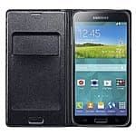 Samsung Galaxy S5 Flip Cover Folio Wallet Case - $9.99 Shipped