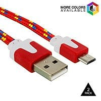 Tanga Deal: 2-Pack Micro USB Cables or 2 Pack 8-pin to USB Cable - $3.99 fs