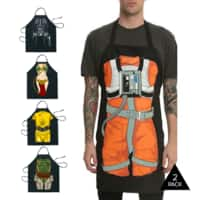 Tanga Deal: 2-Pack Star Wars Aprons - $20.98