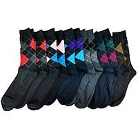 Tanga Deal: 12-Pairs of Men's Fashion Dress Socks $19