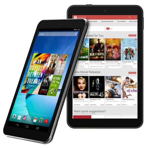 "Hisense 8"" Sero 8 Quad-Core Android Tablet 16GB - $55"