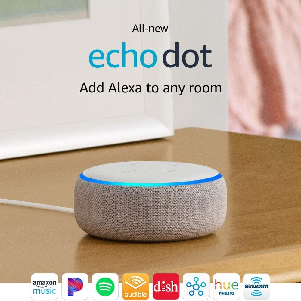 Prime Members w/ Alexa: Up to 50% Off Amazon Devices: Echo Dot (3rd Gen) $24 & More + Free S/H