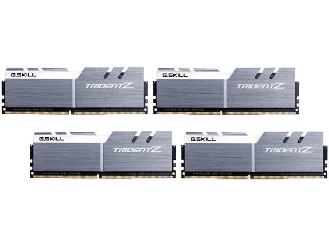 G.Skill 32GB (4x8GB) DDR4 3400 CL16 $357.59