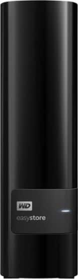 8TB WD easystore USB 3.0 External Hard Drive for 169.99