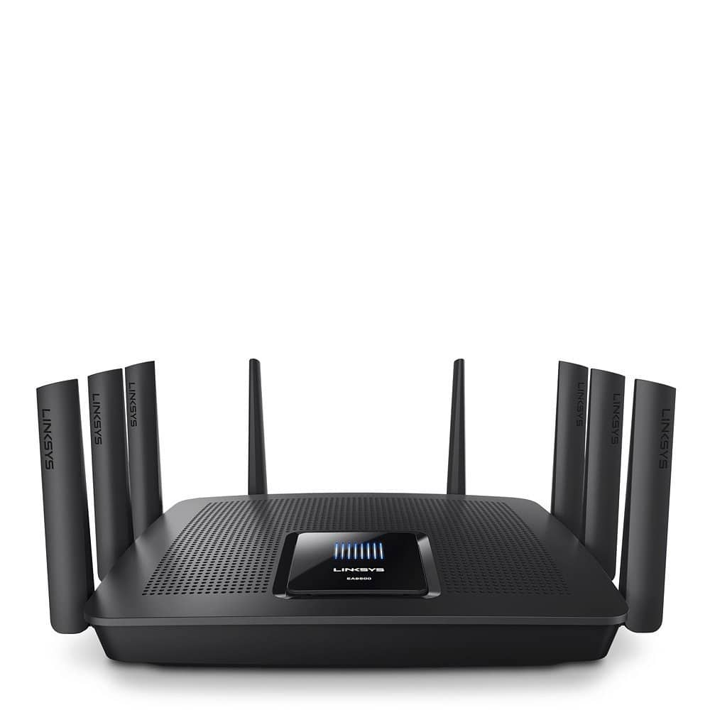 Linksys AC5400 Tri Band Wireless Router,  (Max Stream EA9500) for 249.97 from amazon $249.97