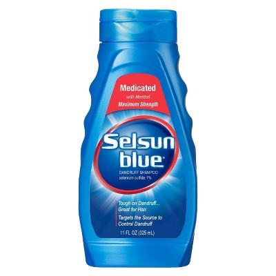 Selsun Blue Shampoo Naturals Dandruff Medicated 11 Ounce (325ml)  for $2.08