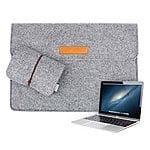 Inateck 12 Inch Apple New MacBook Sleeve Bag Case Cover Carrying Protector Case Bag with Card Slot for $9.99 AC + FSSS @ Amazon.com