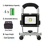 10 Watts Cordless Portable Work Led Lights / Ultra-compact Emergency Lights for $45 AC + Free Shipping @ Amazon.com
