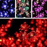 Esky 32.8ft 100 LED Super Bright Waterproof Colorful Color Changing Cherry Led Blossom/Led Strip Light Kit with 8 Controllable Modes for $11.99 AC + FSSS @ Amazon.com