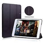GOSLETE Apple iPad Mini 4 Smart Case Slim Folio Leather Case Cover for $7.99 AC + FSSS @ Amazon.com