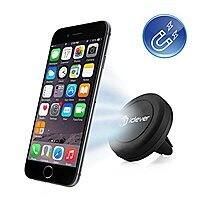 Amazon Deal: iClever Air Vent Universal Smartphone Magnetic Car Mount Holder for $6.99 AC + FSSS or Get it Free with  3-Port 6.6A 33W Premium Aluminum USB Car Charger $12.99 @ Amazon.com