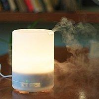 Amazon Deal: 300ml Aroma Diffuser warm white Ultrasonic Humidifier for $32 AC + Free Shipping @ Amazon.com