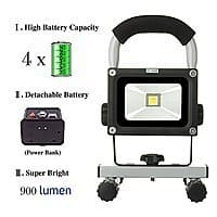 Amazon Deal: 10 Watts Cordless Portable Work Led Lights / Ultra-compact Emergency Lights for $45 AC + Free Shipping @ Amazon.com
