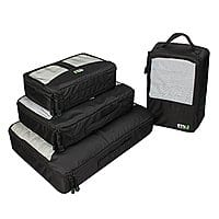 Amazon Deal: MIU COLOR Packing Cubes/Bags for Travel and Trip, 4 Set, (3 Clothes Bags and 1 Shoe Bag) for $23.5 + FSSS @ Amazon.com