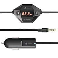 Amazon Deal: iClever Universal Wireless FM Transmitter with USB Car Charger for $7.99 AC + FSSS @ Amazon.com