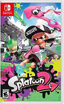 Splatoon 2 Nintendo Switch back at Amazon save 20% with prime $47.99