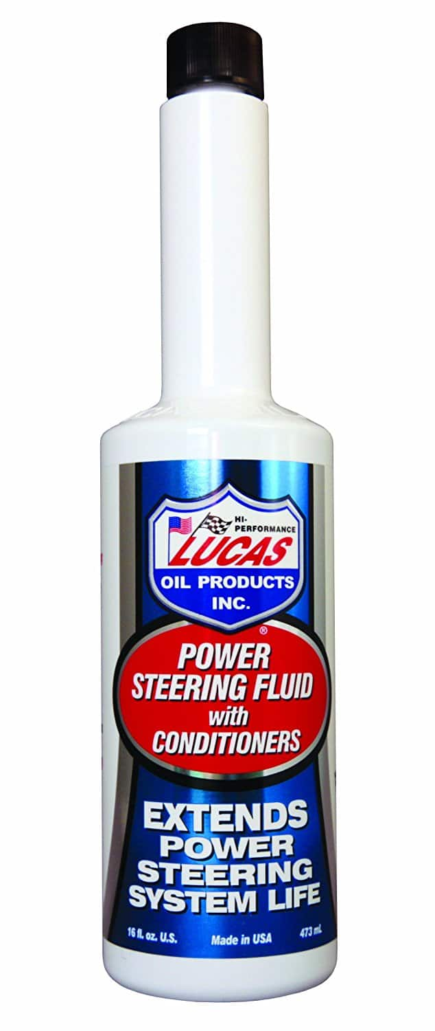 Amazon Add-on Item Lucas Oil 10442 Power Steering Fluid with Conditioners - 16 oz. $2.61