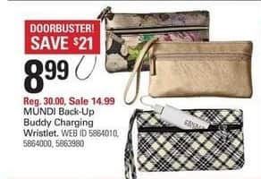 Shopko Black Friday: Mundi Back-Up Buddy Charging Wristlet for $8.99