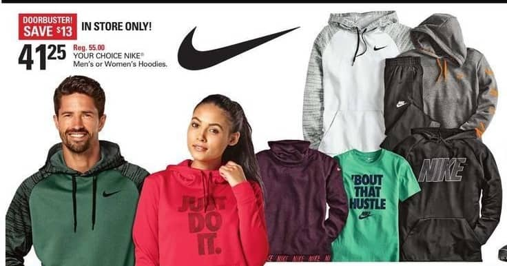 Shopko Black Friday: Nike Men's or Women's Hoodies for $41.25