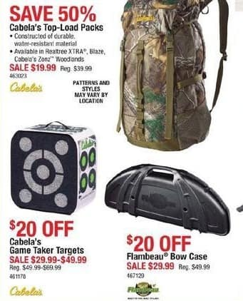 Cabelas Black Friday: Flambeau Bow Case for $29.99
