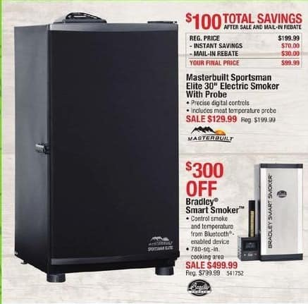 Cabelas Black Friday: Bradley Smart Smoker for $499.99