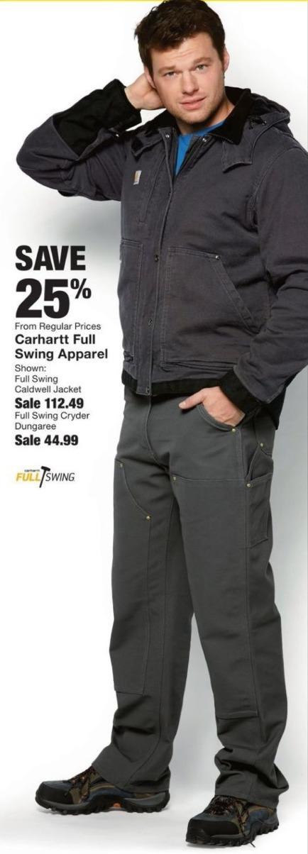 Fred Meyer Black Friday: Save 25% on Carhartt Full Swing Apparel - 25% Off