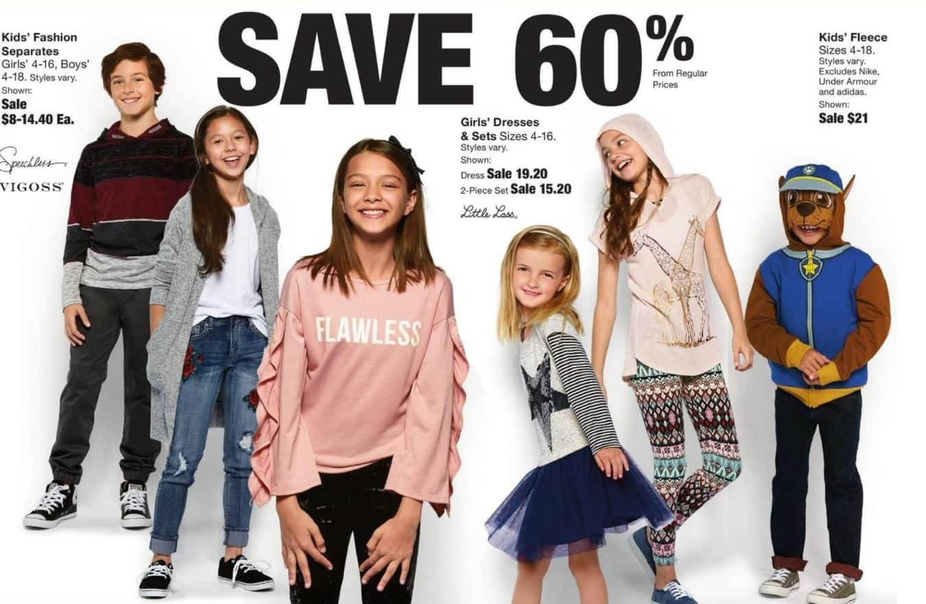 Fred Meyer Black Friday: Girls' Dresses & Sets - 60% Off