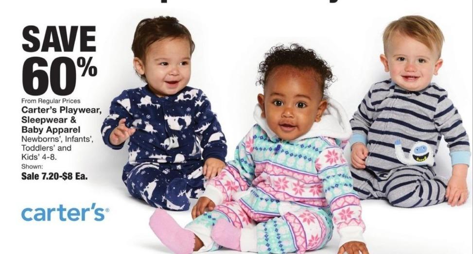 Fred Meyer Black Friday: Carter's Playwear, Sleepwear & Baby Apparel - 60% Off