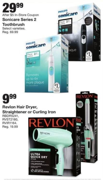 Fred Meyer Black Friday: Revlon Hair Dryer, Straightener or Curling Iron for $9.99