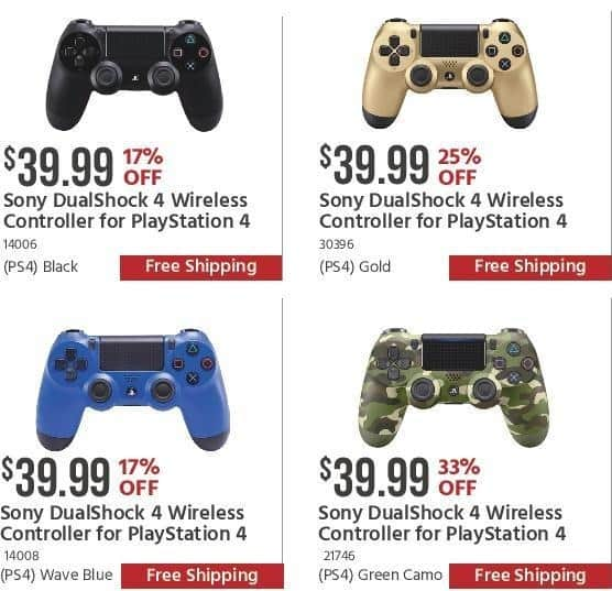 Monoprice Black Friday: Black Sony DualShock 4 Wireless Controller for $39.99