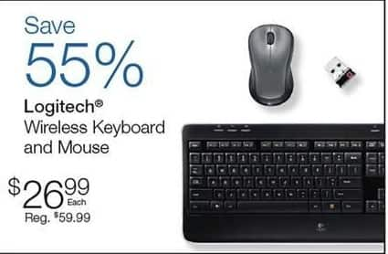 Quill Cyber Monday: Logitech Wireless Keyboard and Mouse for $26.99