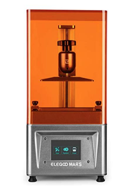 ELEGOO Mars UV Photocuring LCD 3D Printer - Silver $250 or