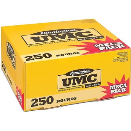 Ammo Walmart B&M *YMMV* .40 S&W and .45ACP Remington UMC 250rds 45.00 Clearance/9mm 49.00 Clearance