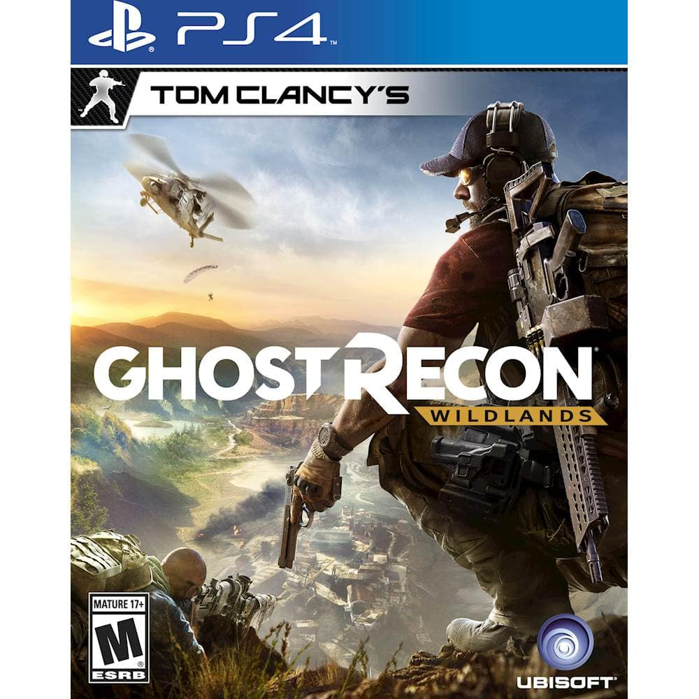Best Buy Early Access Tom Clancy's Ghost Recon: Wildlands for PS4 for $15.99 with GCU or 19.99 and more