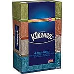 4-Pack 160-Count Kleenex Facial Tissues $3.99 or 6-Pack Scott Mega Roll Choose-A-Size Paper Towels $4.99 + Free Store Pickup