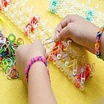 3500-Piece Set Colorful Loom Bands with Loom Board, Stick & Connectors $5 Shipped