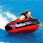 Sportsstuff Outlaw One-Rider PVC Nylon Towable Water Tube $57 Shipped