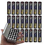24 Pack of Heavy Duty PowerTec AA Batteries $4.50 + Free Shipping