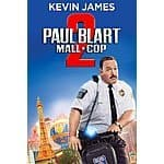 Paul Blart: Mall Cop 2 (HD Rental) $1