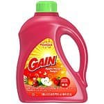 2x 100oz Gain High-Efficiency Liquid Laundry Detergent (Various Scents) for $12.59 + Free Shipping