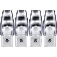 13deals.com Deal: 4-pack Style Selections Automatic LED Night Lights $5.49 + Free Shipping