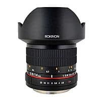 eBay Deal: Rokinon 14mm f/2.8 IF ED MC Super Wide Angle Lens (Canon, Fuji, Olympus or Sony) $269.99 + Free Shipping