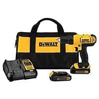 Rakuten (Buy.com) Deal: DeWalt 20V Max Lithium-Ion Drill/Driver Kit (Refurbished) + $9.50 Rakuten Cash $80 with free shipping