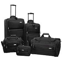 BuyDig Deal: Samsonite Luggage: Hyperspace XLT Spinner Boarding Bag (black) $74.25, 5-Piece Set (black) $78.75 & more with free shipping