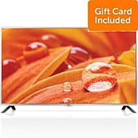 "Dell Home & Office Deal: 60"" LG 60LB5900 1080p 120Hz LED HDTV + $200 Dell eGift Card + 2-Years Warranty $799 + free shipping"