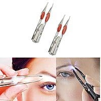 2 Pack: Life Saver Handy LED Tweezers $  4 + free shipping