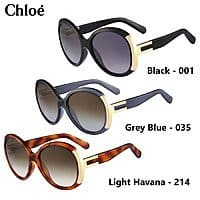 Shnoop Deal: Chloe Alexi Ladies Oversized Round Sunglasses (various colors) $70 each with free shipping